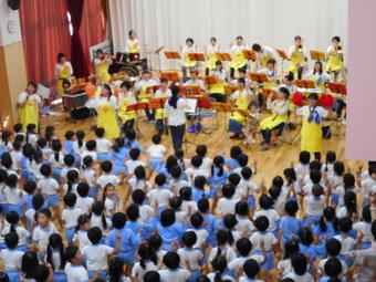 たまぴよ隊のコンサート